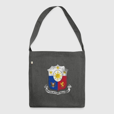 Filipino Coat of Arms Philippines Symbol - Shoulder Bag made from recycled material