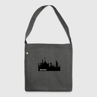 Ramadan Kareem Ramadan Mubarak mosque gift - Shoulder Bag made from recycled material
