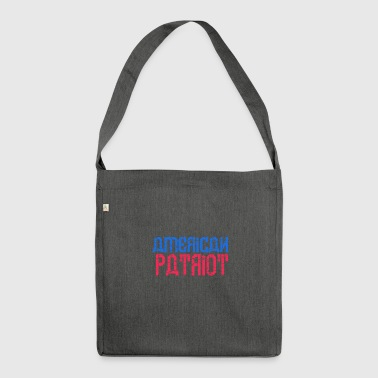 Patriot patriot - Shoulder Bag made from recycled material