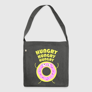 hungry - Shoulder Bag made from recycled material