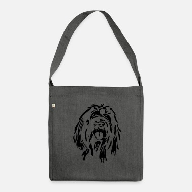 Bearded Collie Bearded Collie - Shoulder Bag made from recycled material