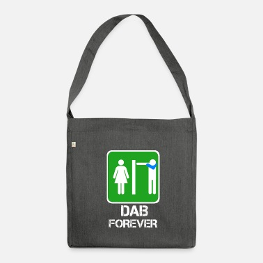 DAB FOREVER toilet / bathroom Dabbare - Shoulder Bag made from recycled material