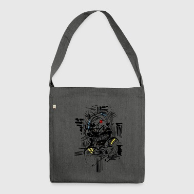 Samurai Ink - Shoulder Bag made from recycled material