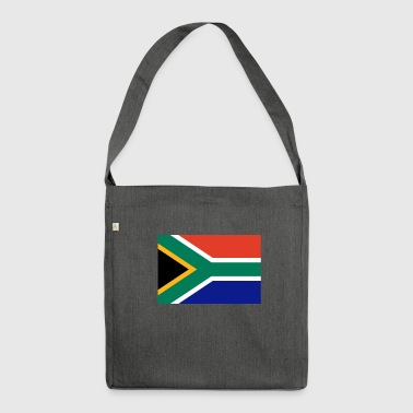 Südafrika-Flagge - Schultertasche aus Recycling-Material