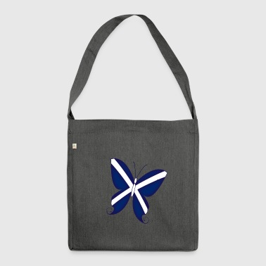 Scottish Butterfly - Shoulder Bag made from recycled material
