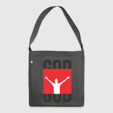 God God God - Shoulder Bag made from recycled material