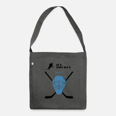 Icehockey Icehockey - Schultertasche aus Recycling-Material