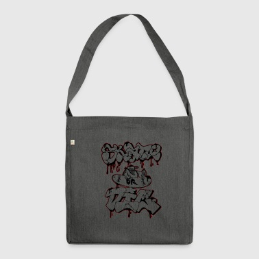 skate or die transparent - Borsa in materiale riciclato
