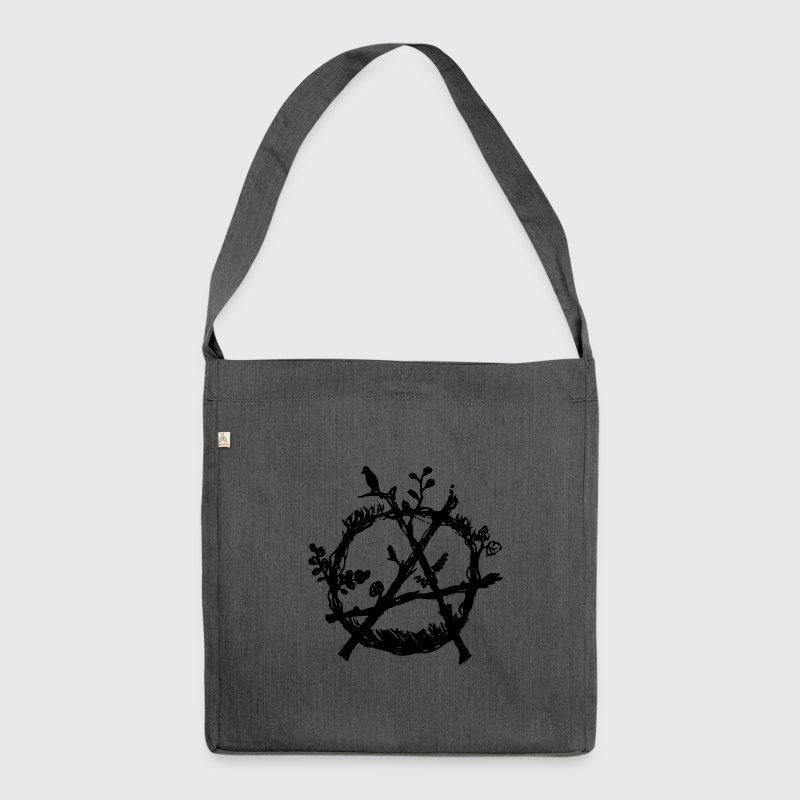 green anarchy eco - Shoulder Bag made from recycled material