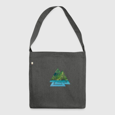 Caribbean - Caribbean Island - Shoulder Bag made from recycled material