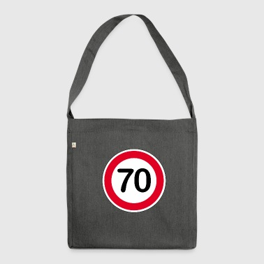 70s 70 - Shoulder Bag made from recycled material