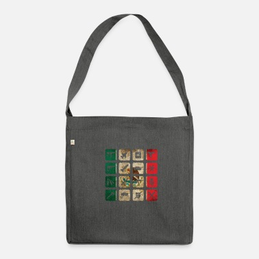Latin America Mexico South America Latin America - Shoulder Bag recycled