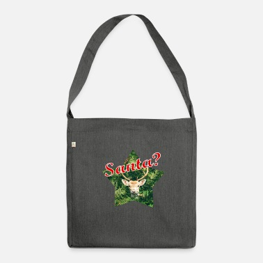 Santa Santa? - Shoulder Bag recycled