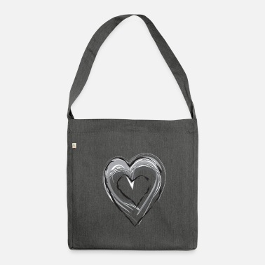 I Heart heart - Borsa in materiale riciclato