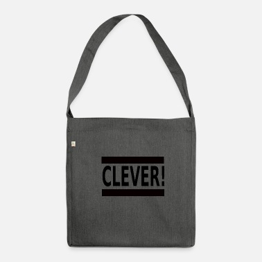 Clever Clever - Schultertasche aus Recycling-Material