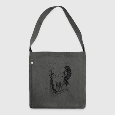 Animal-Skull - Borsa in materiale riciclato
