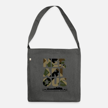 Wear Nefarious street wear militare - Borsa in materiale riciclato