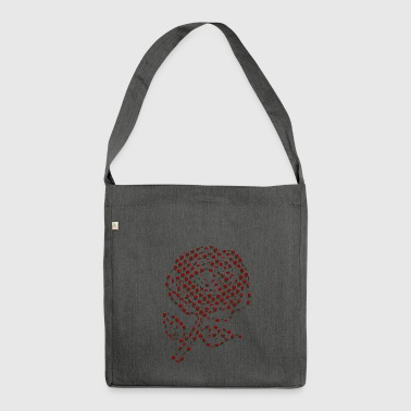 Rose of roses - Shoulder Bag made from recycled material