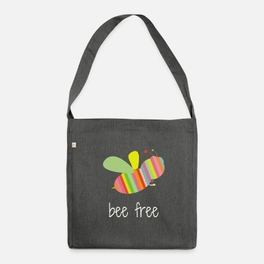 Apette bee free - Borsa in materiale riciclato
