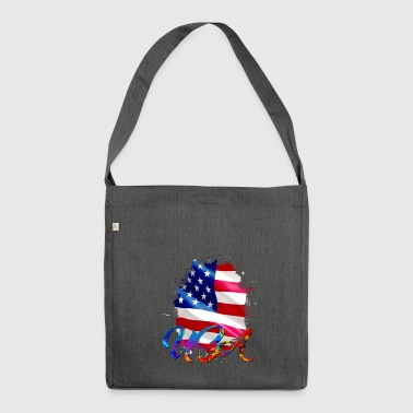 USA - USA - Shoulder Bag made from recycled material