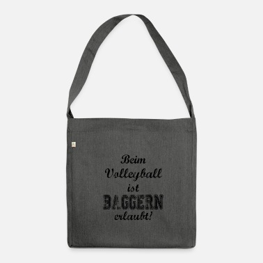 Draguer Sport: volleyball drague - Sac bandoulière 100 % recyclé