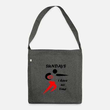 American Football American football - Shoulder Bag made from recycled material