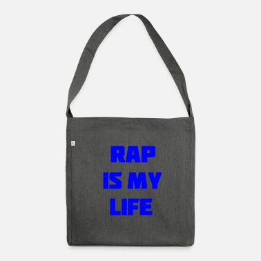 Rap rap - Shoulder Bag made from recycled material