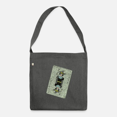 Playing Cards Joker card playing card - Shoulder Bag recycled