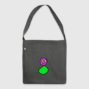 ghost - Shoulder Bag made from recycled material