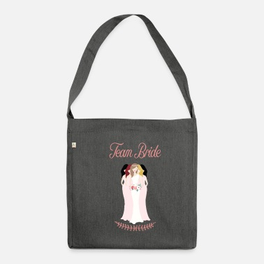 Celibenubile team_bride__brown_had_beautiful - Borsa in materiale riciclato