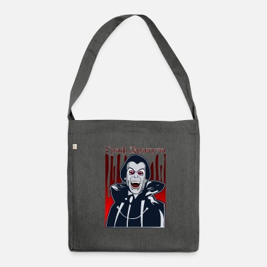 Count Royal Count Dracula - Shoulder Bag made from recycled material
