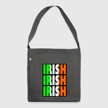irish irish - Shoulder Bag made from recycled material