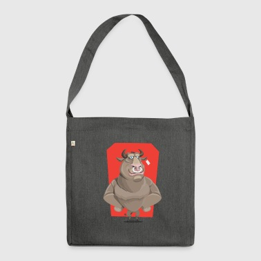 Swagg SWAGG BULL - Schultertasche aus Recycling-Material