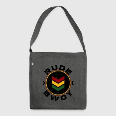 Rude Bwoy - Shoulder Bag made from recycled material