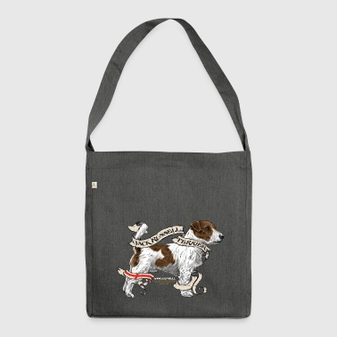 JACK RUSSEL - Schultertasche aus Recycling-Material