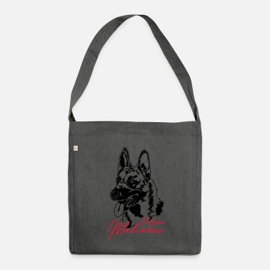Belgian Malinois Belgian Malinois - Shoulder Bag made from recycled material