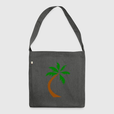 Crooked palm - Shoulder Bag made from recycled material