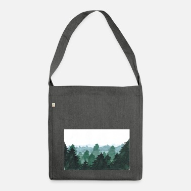 Forest Forest - Shoulder Bag made from recycled material