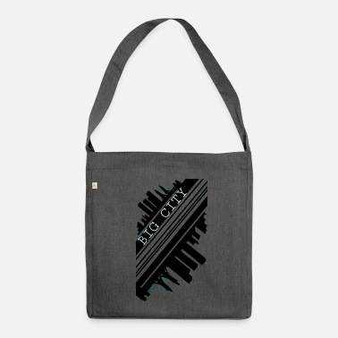 City city - Shoulder Bag made from recycled material