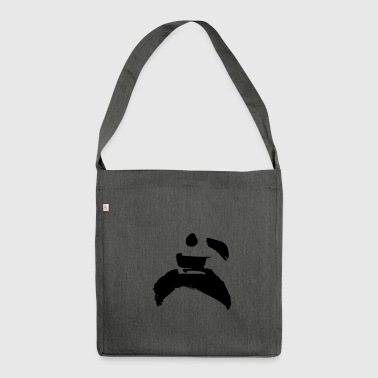kung fu - Schultertasche aus Recycling-Material