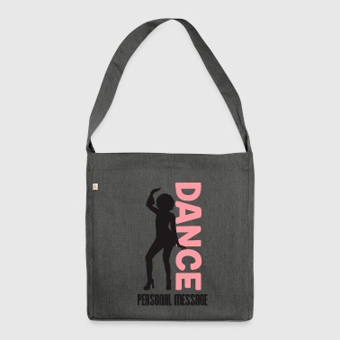 MASSAGE PERSONNELS BEAUTIFUL DANCER - Sac bandoulière 100 % recyclé
