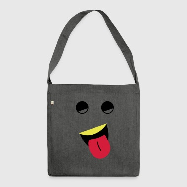 Pull the tongue - Shoulder Bag made from recycled material