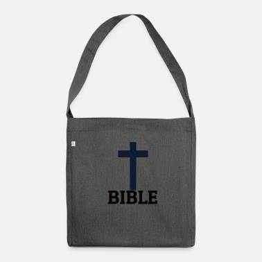 Bible Bible - Shoulder Bag made from recycled material