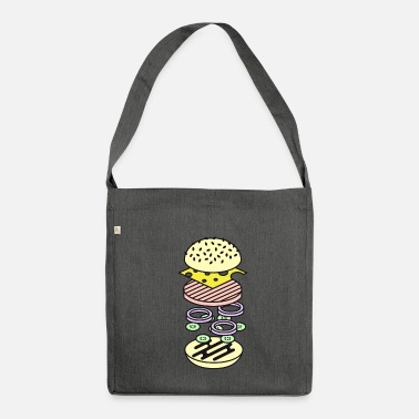 Food Collection Burger - Shoulder Bag recycled
