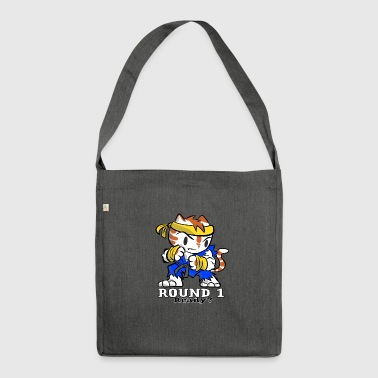 Cat Game Gaming Retro - Shoulder Bag made from recycled material