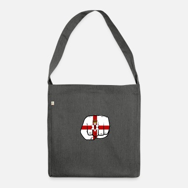 Ireland Northern Ireland fist - Shoulder Bag recycled