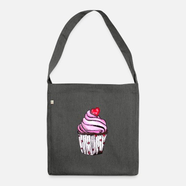 Cupcake cupcake - Shoulder Bag made from recycled material