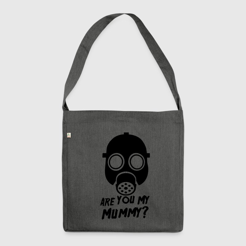 Doctor Who Are you my Mummy? - Shoulder Bag made from recycled material