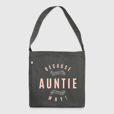 WEIL TANTE - Schultertasche aus Recycling-Material