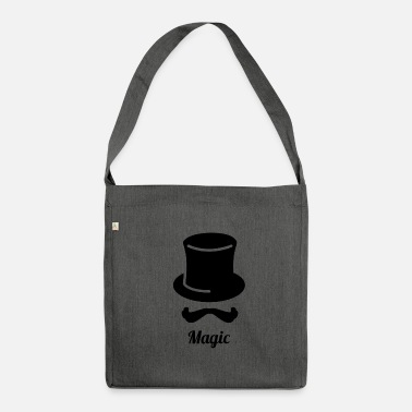 Magic Magic Magic Magician Magic Wizard Magic - Shoulder Bag recycled